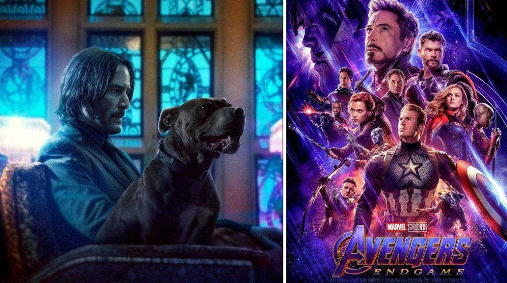 John Wick 3 Avengers Endgame biograf billetsalg / Filmz.dk