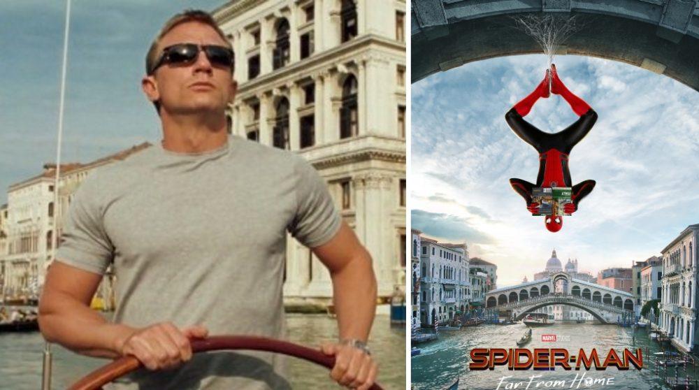 Spider-Man Far From Home James Bond / Filmz.dk