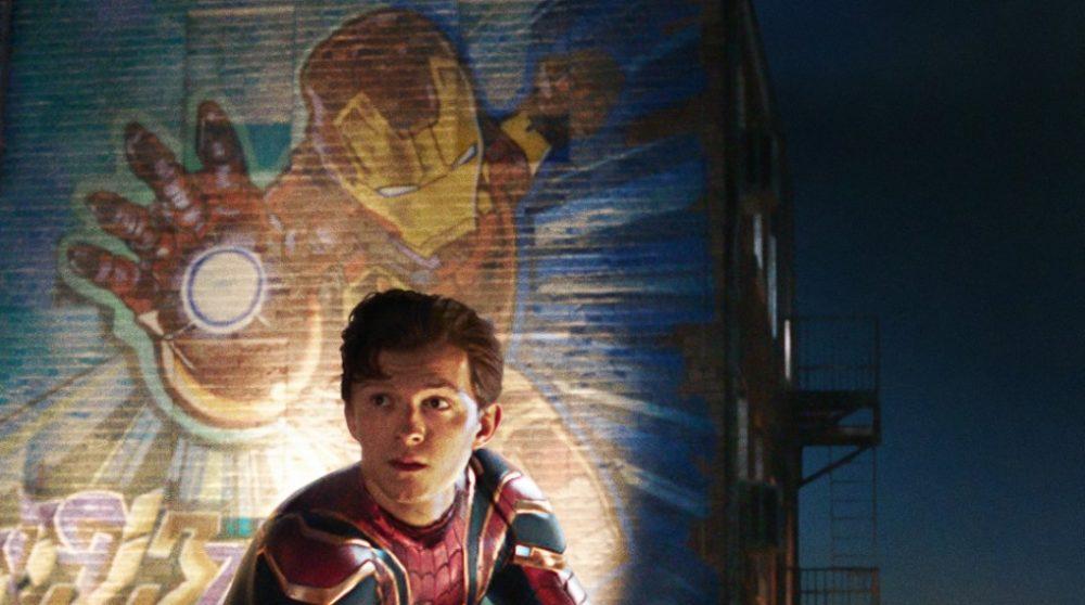 Spider-Man Far From Home plakat Iron Man Marvel / Filmz.dk