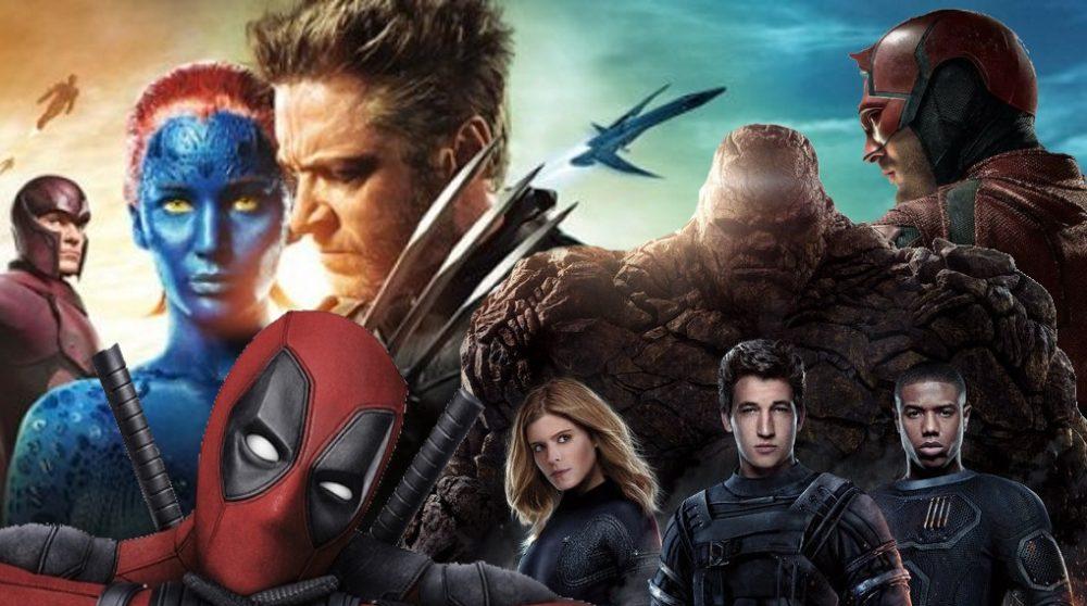 X-Men Deadpool Daredevil Fantastic Four samme film / Filmz.dk