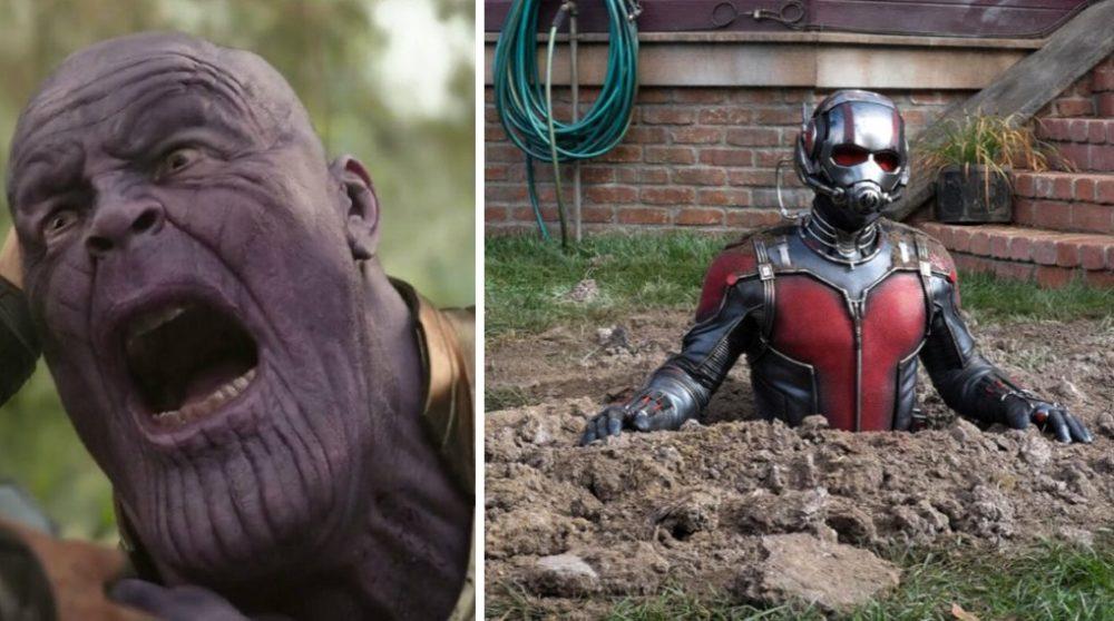 Ant-Man Thanos røv teori Marvel svar / Filmz.dk