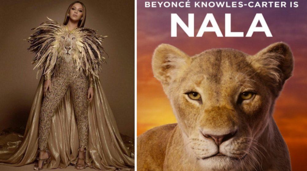 Beyonce Nala Løvernes konge teaser / Filmz.dk