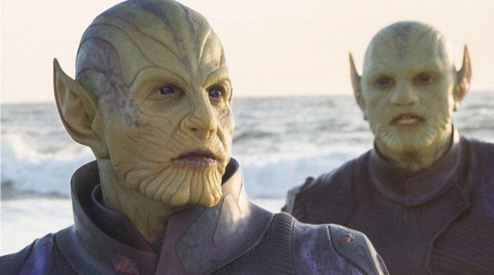 Captain Marvel Skrulls X-Men Dark Phoenix / Filmz.dk