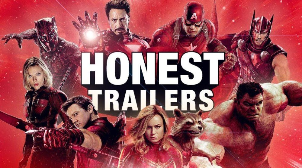 honest trailers gør grin med mcu 300 avengers / Filmz.dk