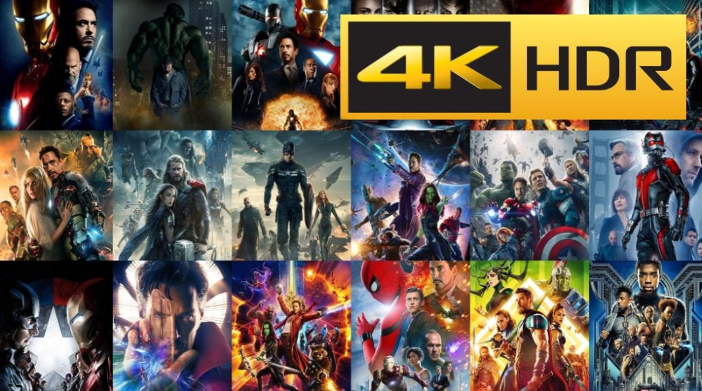 Marvel MCU 4K hjemmebiografen / Filmz.dk