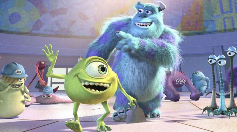 Monsters Inc serie Disney Plus logo Pixar / Filmz.dk