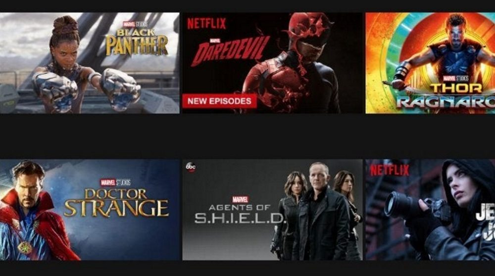 Netflix Disney+ Marvel Star Wars / Filmz.dk