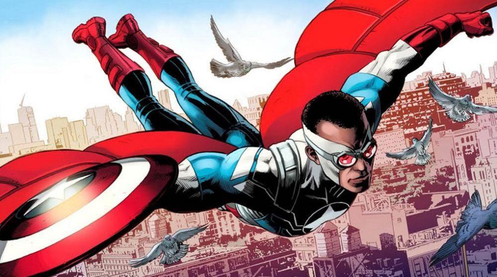 spider-man far from home droppede captain america ide falcon sam wilson anthony mackie / Filmz.dk