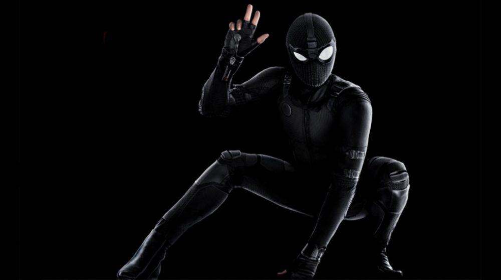 spider-man far from home nyt kig stealth suit bag om kameraet / Filmz.dk