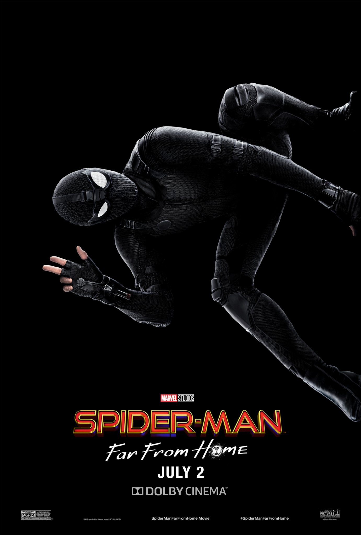 spider-man far from home stealth suit plakat / Filmz.dk