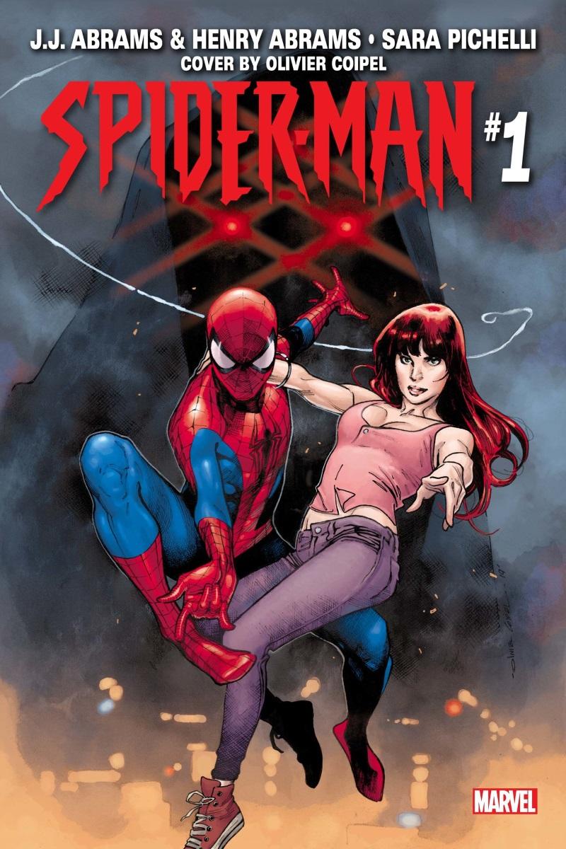 spider-man j j abrams marvel comics søn tegneserie forside / Filmz.dk
