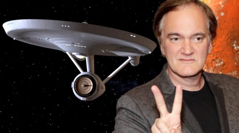 Star Trek Tarantino manuskript R-rating / Filmz.dk