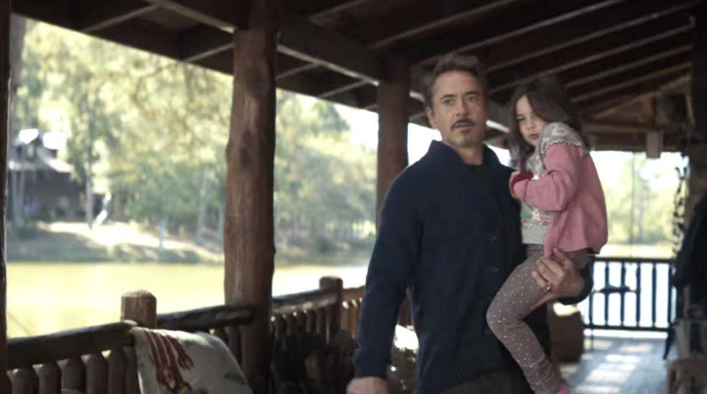 Tony Stark sommerhus hus ferie Avengers Endgame / Filmz.dk