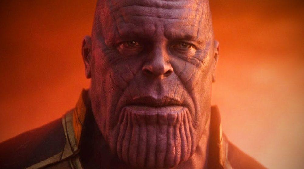 Unge Thanos concept art Marvel / Filmz.dk