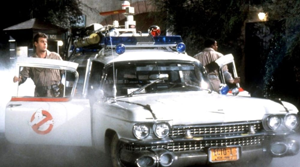 Ghostbusters 3 2020 optagelser billede Ecto-1 / Filmz.dk
