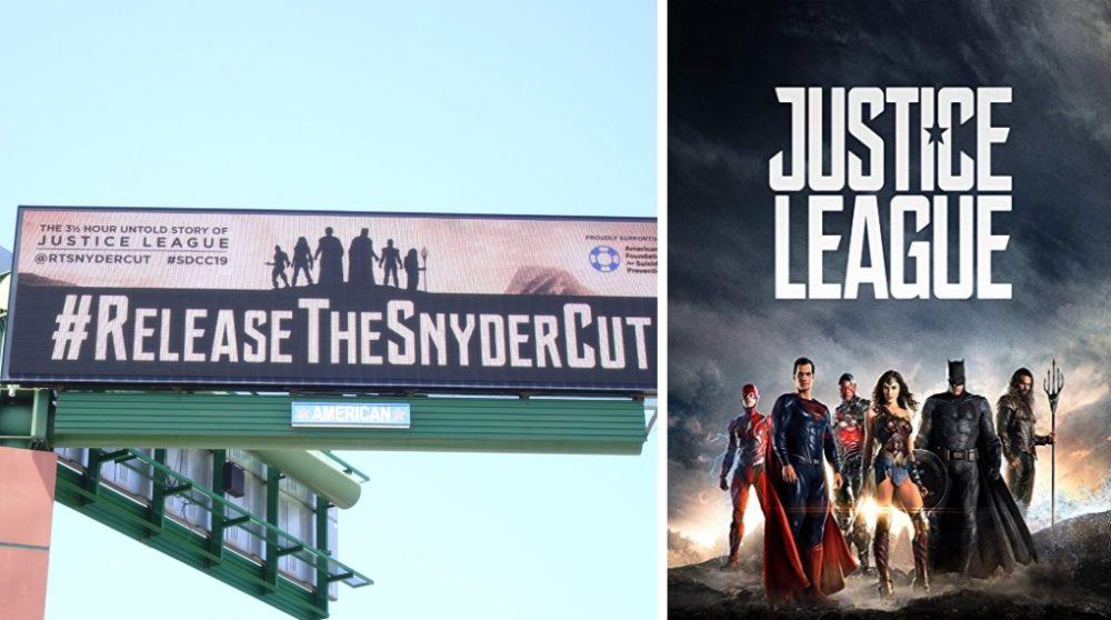 Justice League Release The Snyder Cut fans Comic Con 2019 / Filmz.dk