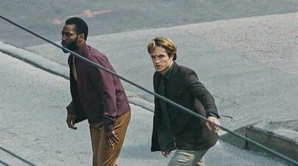 Tenet billeder Christopher Nolan optagelser / Filmz.dk