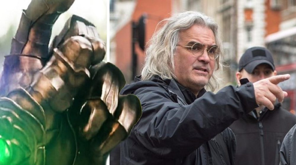 The Snap Thanos Paul Greengrass MCU / Filmz.dk