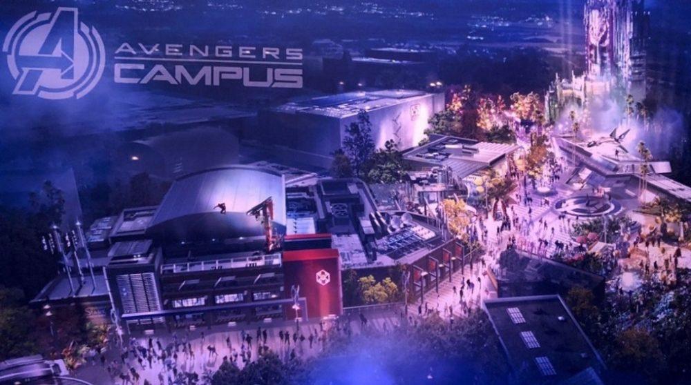Avengers Campus Marvel Land billeder / Filmz.dk