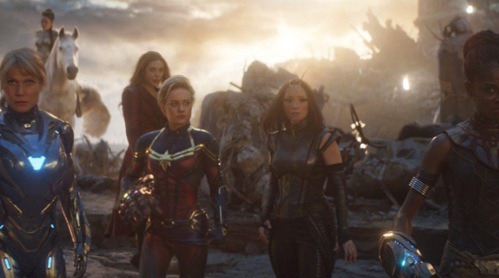Avengers Endgame kvinde scene Marvel A-Force / Filmz.dk