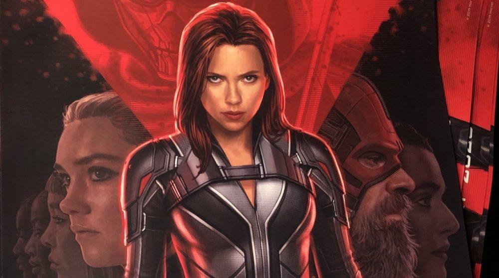 Black Widow plakat MCU Marvel / Filmz.dk