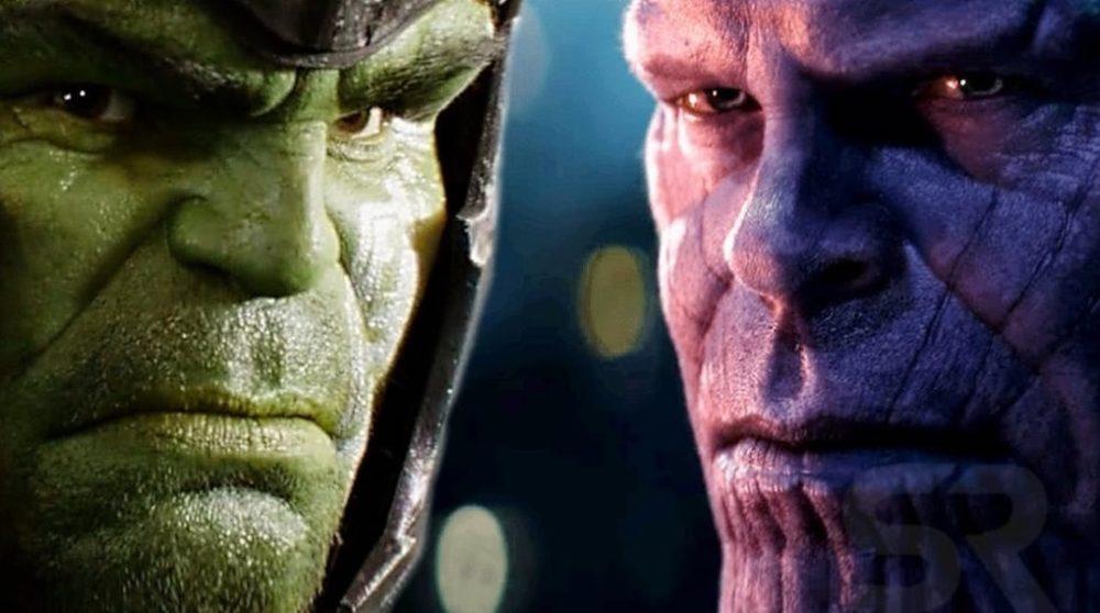 Hulk Thanos omkamp Marvel / Filmz.dk