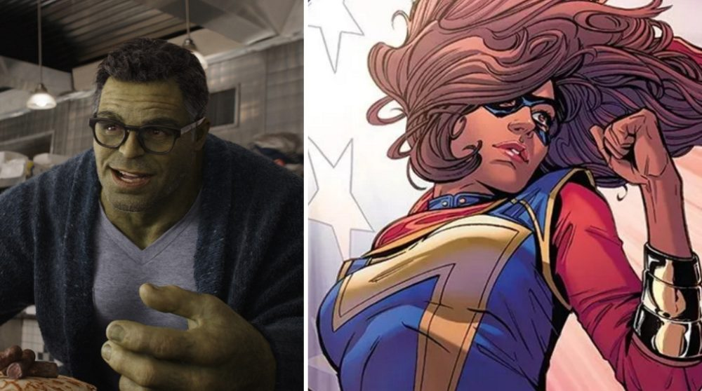 Marvel MCU serie Disney+ Ms. Marvel muslim Hulk / Filmz.dk