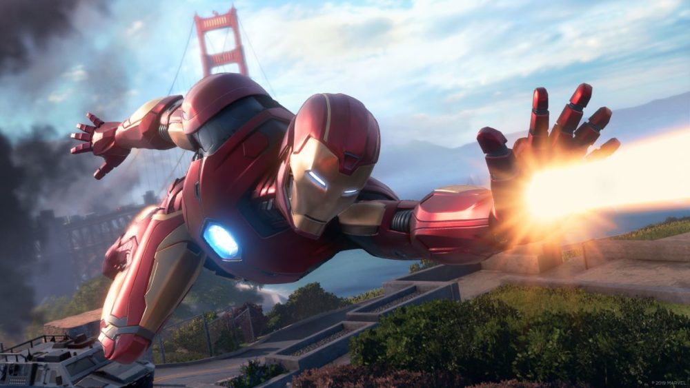 Marvel's Avengers gameplay / Filmz.dk