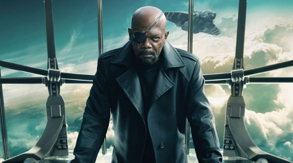 Nick Fury Jules Pulp Fiction MCU Marvel Tarantino reference Winter Soldier / Filmz.dk