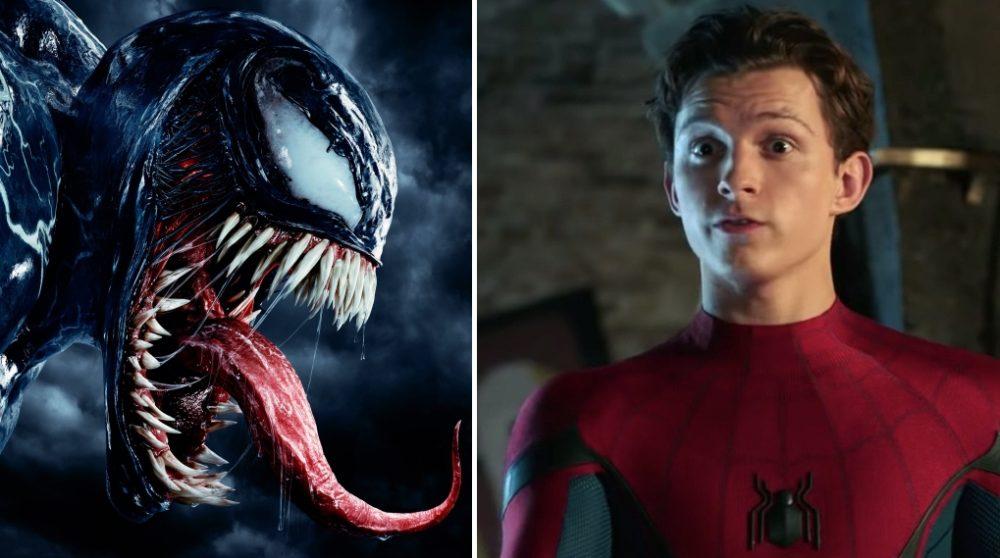Venom fjernet Peter Parker Spider-Man Marvel Sony / Filmz.dk