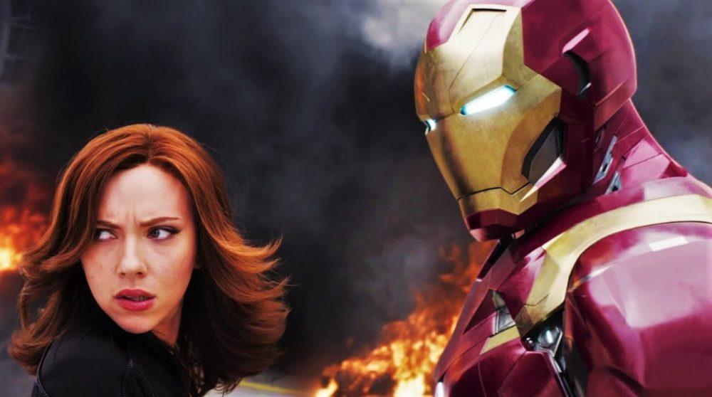 Iron Man cameo MCU Black Widow / Filmz.dk