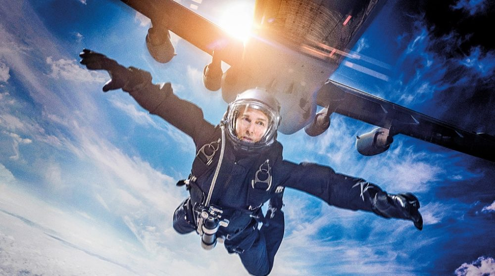 Mission Impossible Fallout Halo Jump kameramand / Filmz.dk