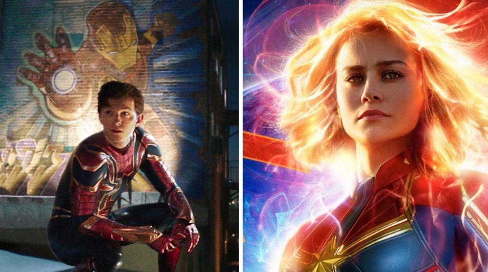 Spider-Man Far From Home større Captain Marvel / Filmz.dk