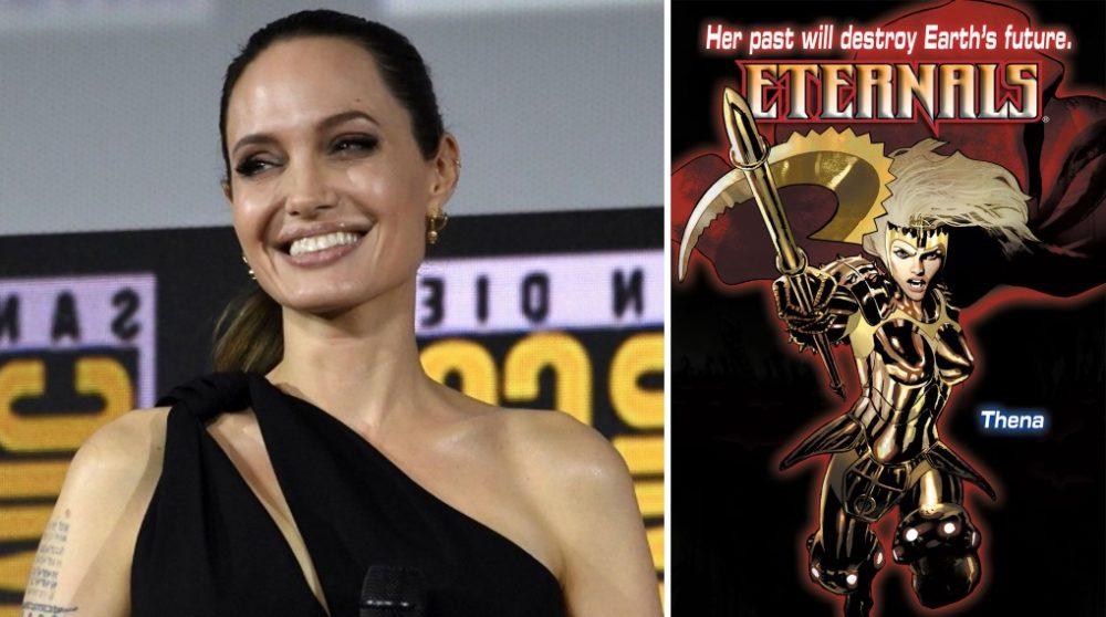 The Eternals set billeder MCU Angelina Jolie Thena / Filmz.dk