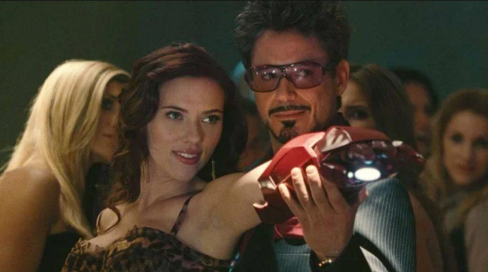 Tony Stark Iron Man cameo MCU Marvel Black Widow / Filmz.dk