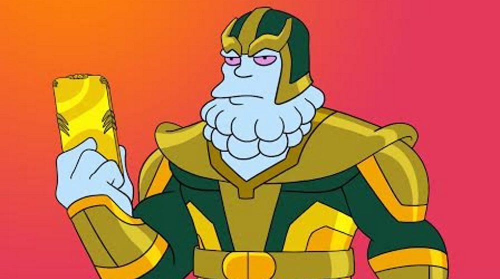 Avengers Endgame The Simpsons Marvel afsnit / Filmz.dk