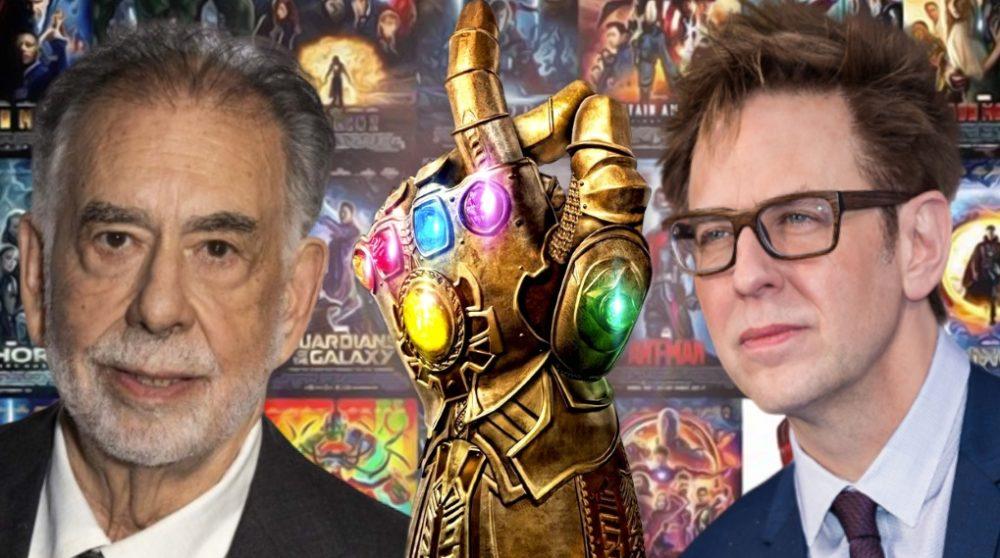 Francis Ford Coppola James Gunn Marvel kritik / Filmz.dk