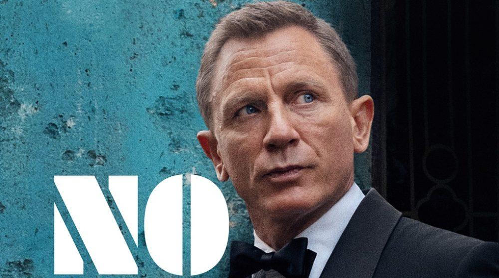 James Bond plakat No Time to Die / Filmz.dk