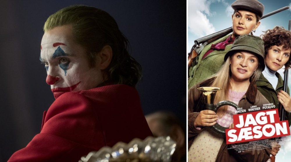 Joker global rekord Jagtsæson Danmark biograf / Filmz.dk