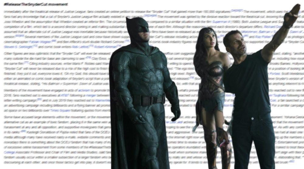 Justice League Snyder Cut dc fans wikipedia / Filmz.dk