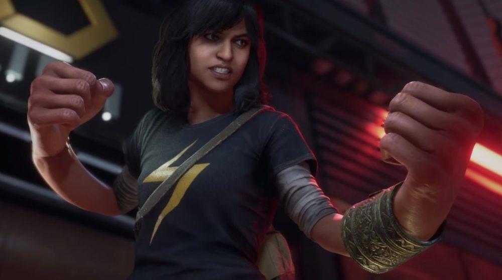 Ms. Marvel Kamala Khan Marvel's Avengers spil trailer / Filmz.dk