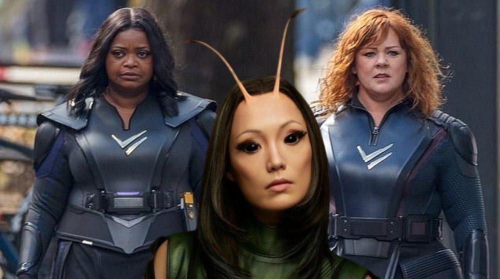 Thunder Force tykke kvinder superhelte Netflix / Filmz.dk