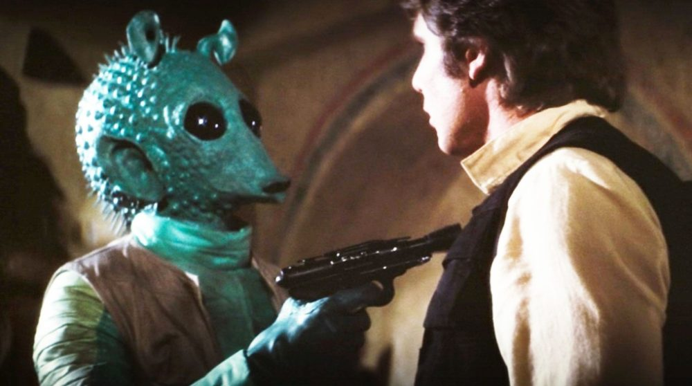 Greedo Maclunkey Han Solo Disney+ / Filmz.dk