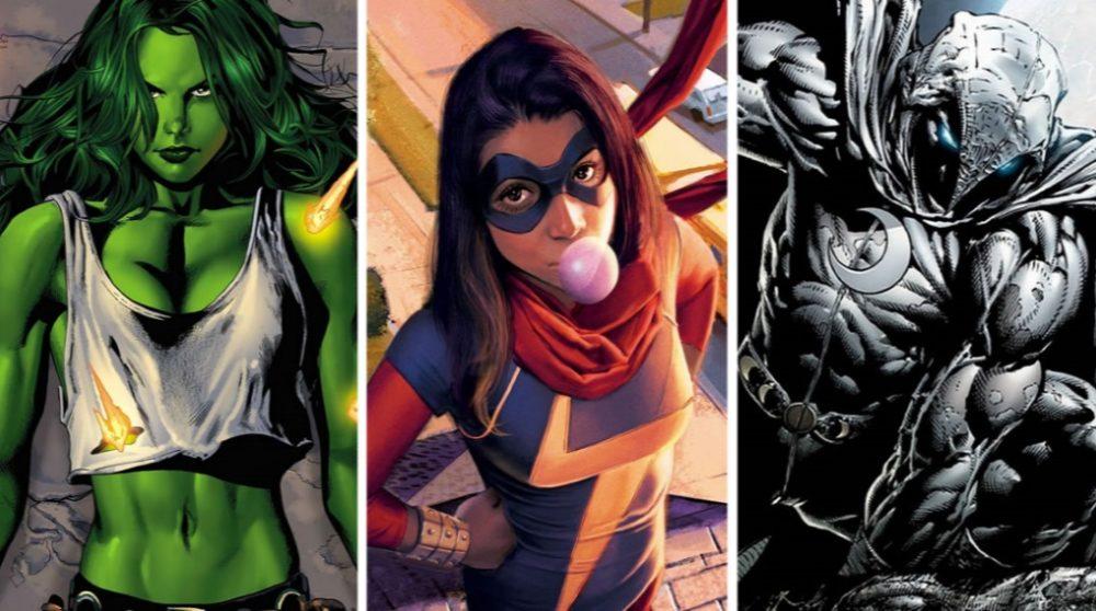 MCU 3 nye Marvel karakterer serie film Disney Plus / Filmz.dk