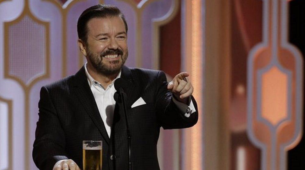 Ricky Gervais Golden Globe vært 2020 / Filmz.dk