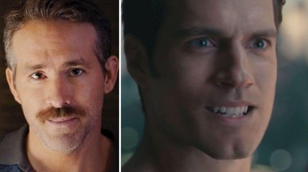 Ryan Reynolds Henry Cavill Justice League / Filmz.dk