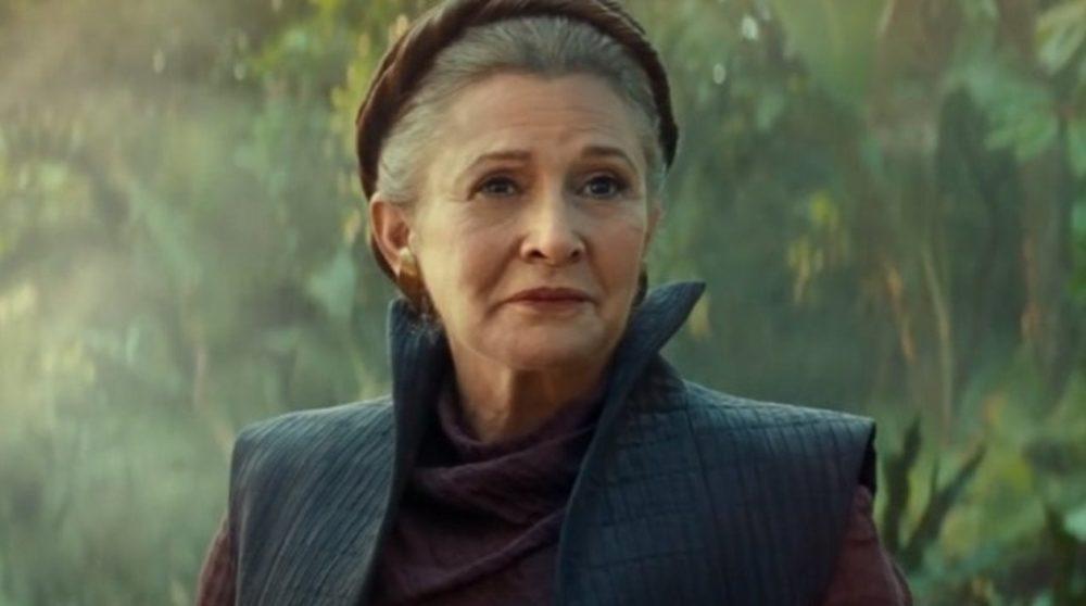 Star Wars The Rise of Skywalker Leia Carrie Fisher / Filmz.dk