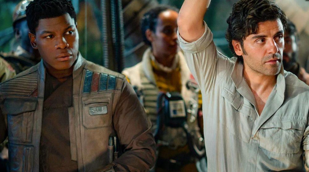 Star Wars The Rise of Skywalker manuskript stjålet ebay john boyega / Filmz.dk