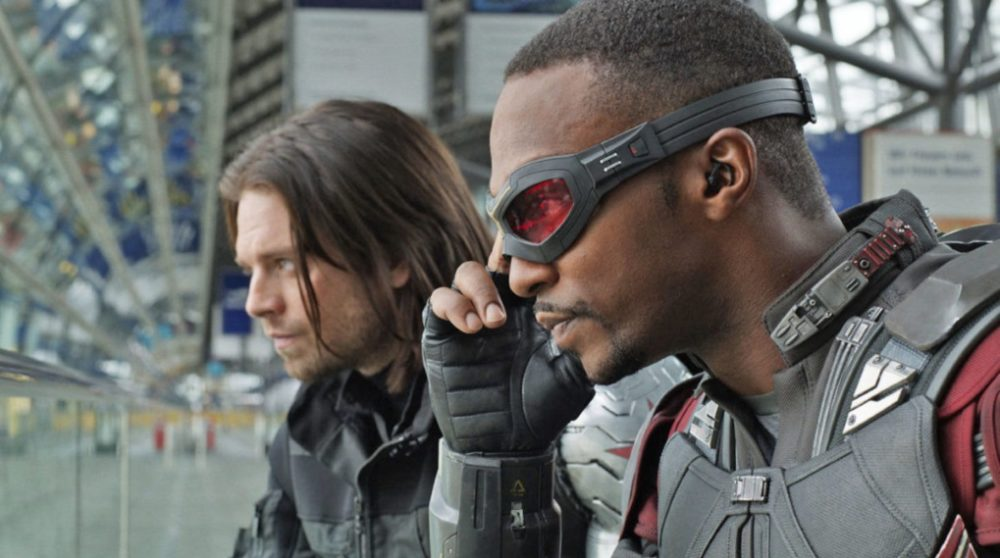 The Falcon and the Winter Soldier produktion video billede / Filmz.dk