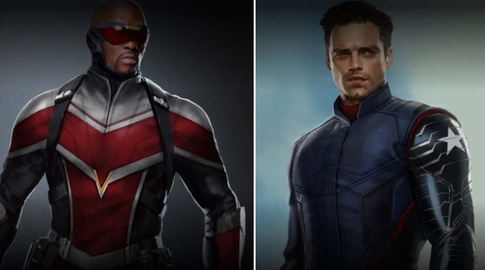 The Falcon and the Winter Soldier 4 billeder nye dragter / Filmz.dk